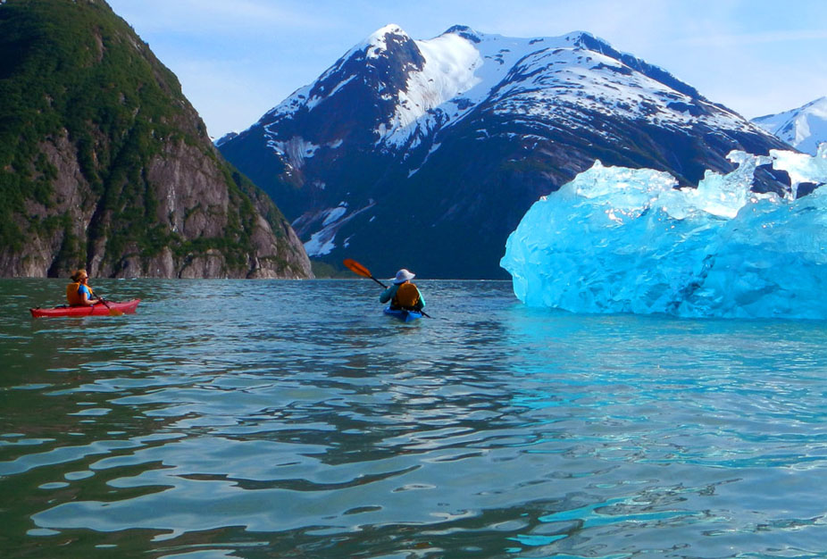Alaska Inside Passage Cruise Kayaking Excursion